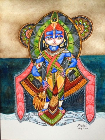 The Udupi Krishna series. #krishnafortoday - keshav