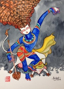 ஓவியம் : கேஷவ்