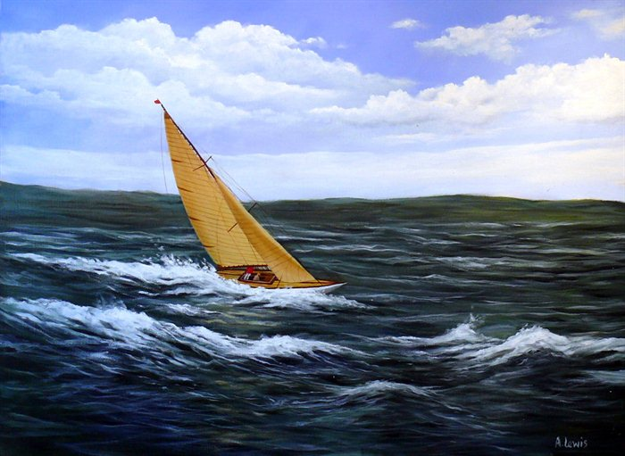 yacht-in-rough-sea