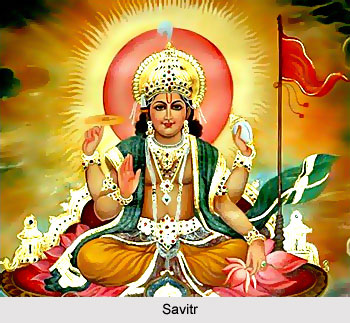 Savitr Vedic Deity