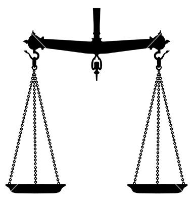 Hand held beam balance scale