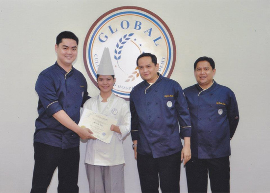Maricel-apatan-chef-graduation
