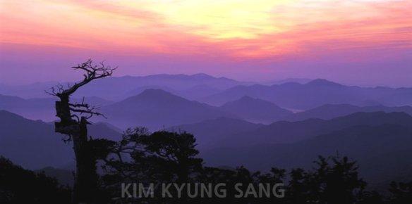 Taebaek Mountain, Photography by Kim Kyung-sang