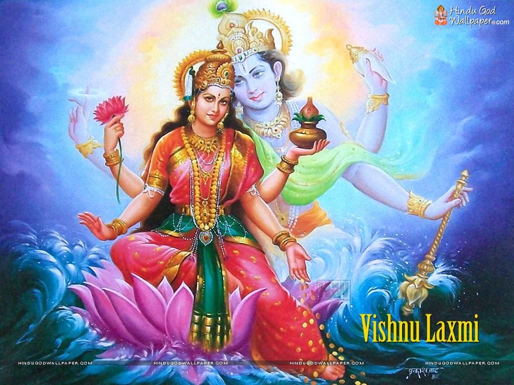 Vishnu- Lakshmi