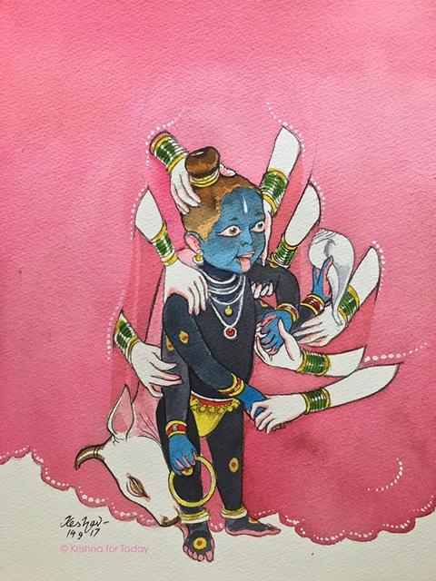 170914- The Evidence- Gopikas report to Yashoda -Krishna Leela -lr