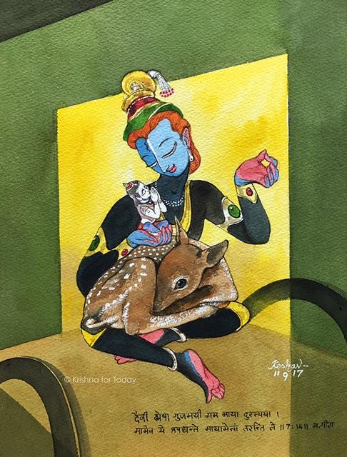 170911 - Maya -Dialogue with Arjuna -lr